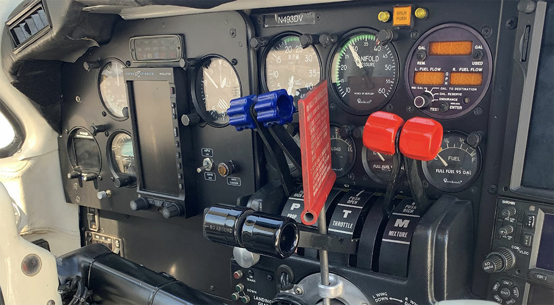 1979 BEECH PRESSURIZED BARON For Sale